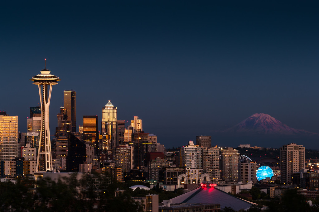 Seattle Sunset from Kerry Park