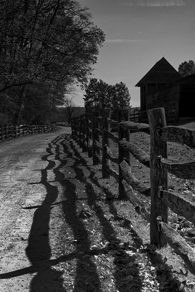 The slave farm.