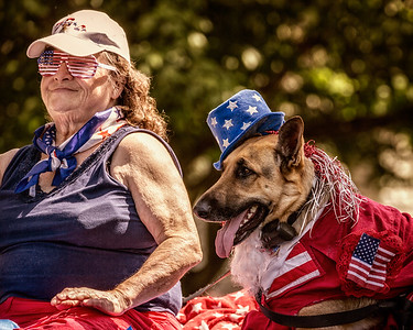 Memorial Day parade in Mount Vernon, Ohio. Photographed on May 30, 2016 by Joe Frazee.