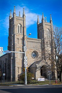The St. Paul's Episcopal Church on corner of East High Street and North Gay Street.