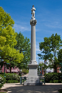 Civil War statue on the Public Square in Mount Vernon, Ohio.
