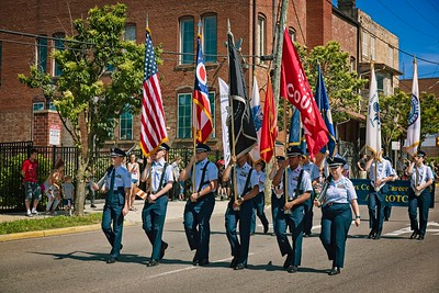 Photographed at Memorial Day Parade in Mount Vernon, Ohio on May 27, 2019. Photo by Joe Frazee.