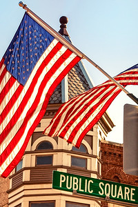 Photographed on Public Square in downtown Mount Vernon, Ohio on November 10, 2012.
