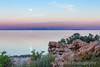 Moonset, Great Salt Lake