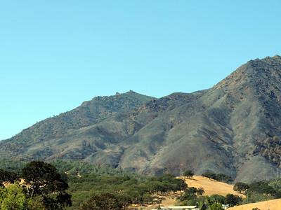 Mt Diablo - After the Fire Devastation