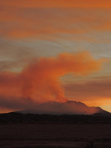Mt Diablo On Fire!  Sept 2013