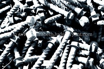 Railroad screws. 3/20/2013