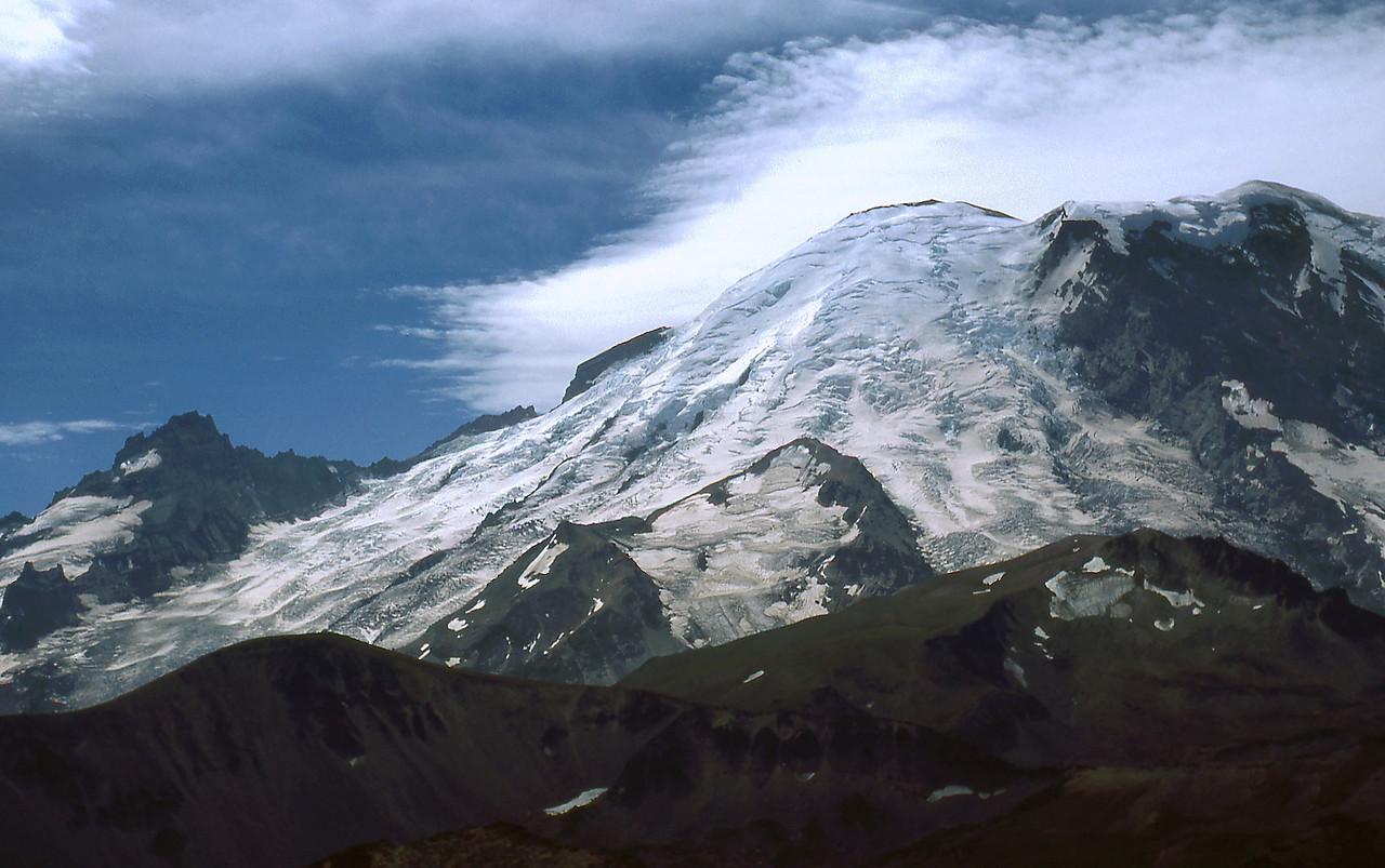 Mt. Rainier form Third Burrows Mountain