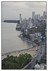 Bird's eye view of Mumbai