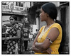 Ladies in waiting... <br /> Kamathipura, Mumbai<br /> <br /> Shot 'blind' with camera at waist level.