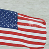 (108) American Flag in Galveston Bay