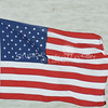 (104) American Flag in Galveston Bay