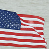 (106) American Flag in Galveston Bay