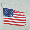 (103) American Flag in Galveston Bay