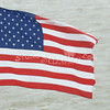 (101) American Flag in Galveston Bay
