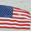(105) American Flag in Galveston Bay
