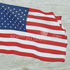 (100) American Flag in Galveston Bay