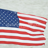(107) American Flag in Galveston Bay