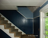 Day #3<br /> The stairs to the second floor before removing paneling