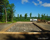 Camper port pad ready to be poured