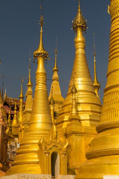 Inle's Golden Pagodas