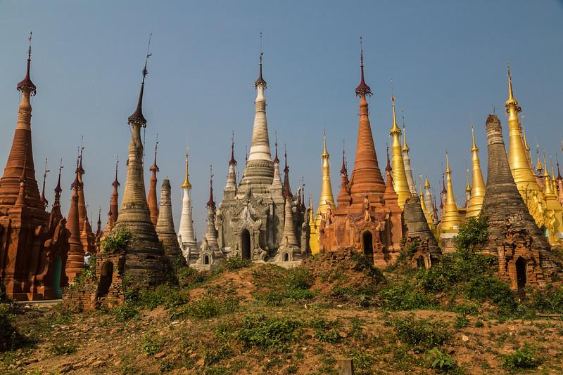 Many Pagodas