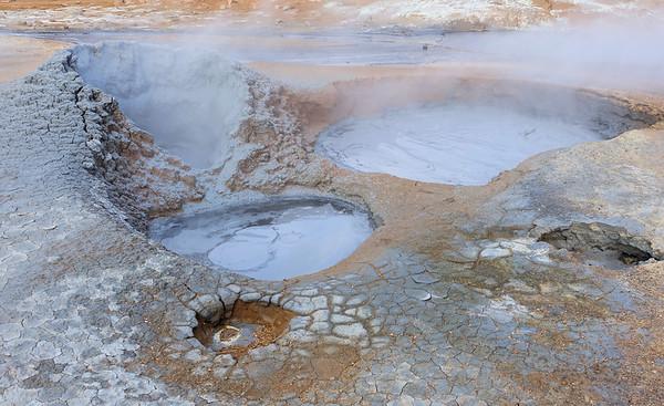 Namafjall Hverir Geothermal Area