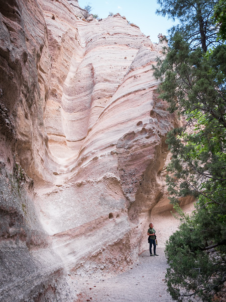 HIKING AT TENT ROCKS