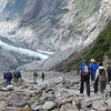 Hiking to the Franz Josef Glacier, south island