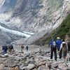 Hiking to the Franz Josef Glacier, south island