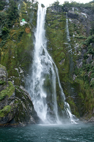 Falls on Milford Sound