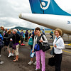 Flying to Queenstown