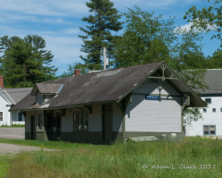Chesham Depot - Harrisville, NH