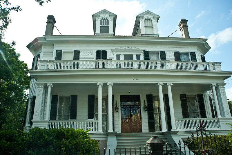 A home used in the movie Benjamin Button