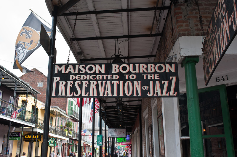 Maison Bourbon Dedicated to the Preservation of Jazz