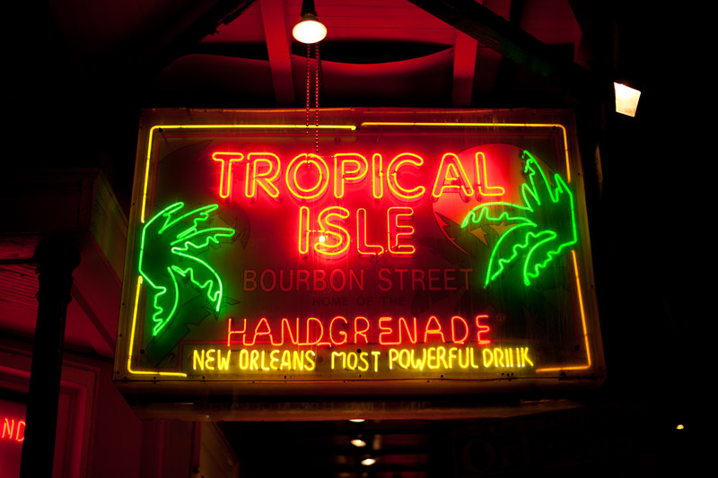 The Tropical Isle in the French Quart, NOLA