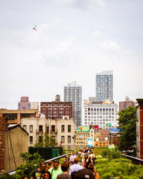 The High Line and Lost Balloons