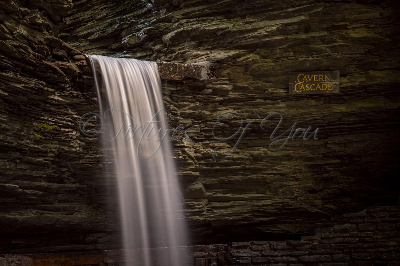 Watkins Glen Cavern Cascade 01