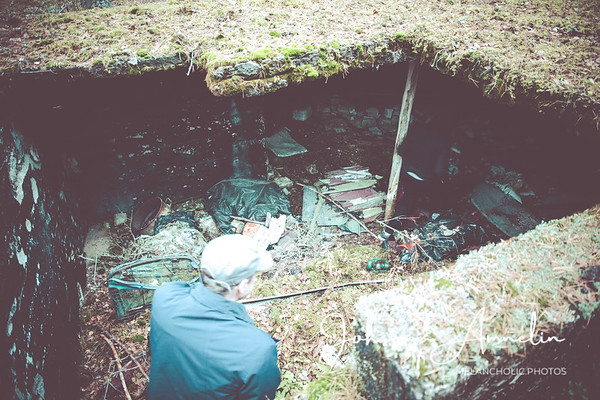 Naarjärven täysihoitolan perustukset