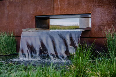 Waterfall at Gulch Crossing, Demonbruen St, Nashville, TN