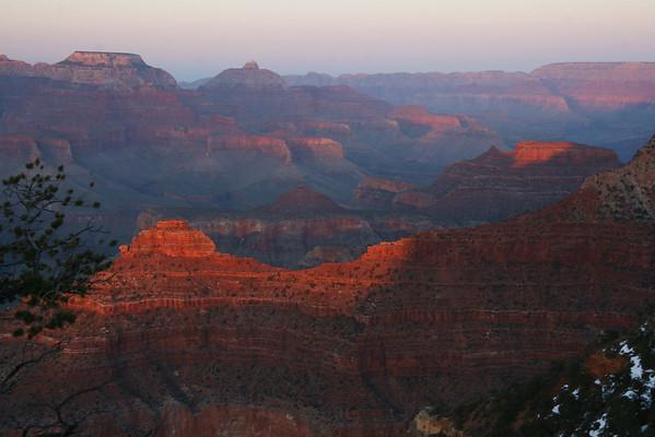 O'Neill Butte from Yavapai Point; Grand Canyon, AZ