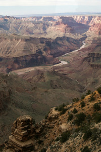 Colorado River from Lipan Point; Grand Canyon, AZ