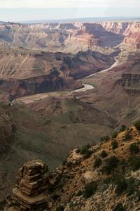 Colorado River from Lipan Point; Grand Canyon, AZ