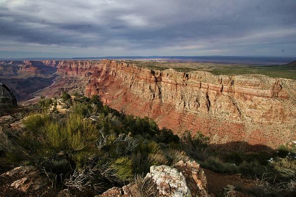 Desert View on the East Rim Drive; Grand Canyon, AZ