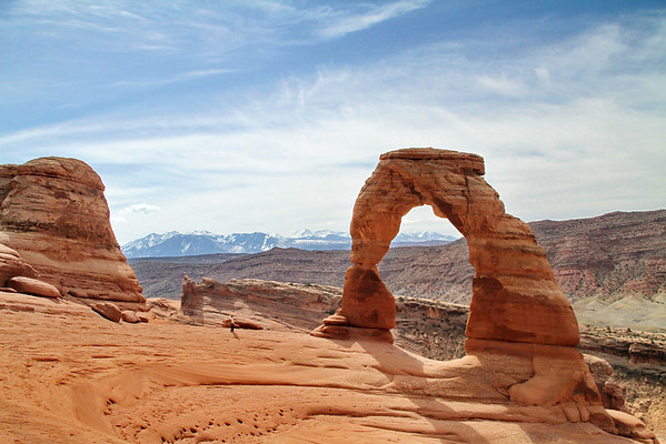 Delicate Arch; Arches National Park; Moab, Utah