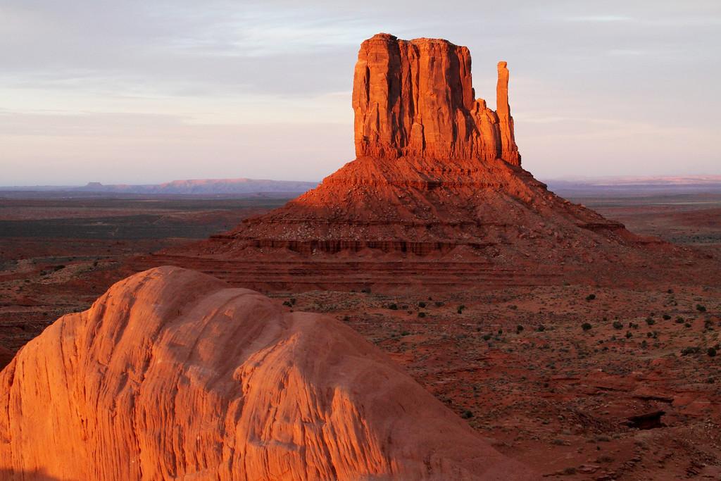 The West Mitten; Monument Valley, Utah