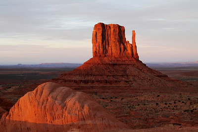 West Mitten; Monument Valley, Utah