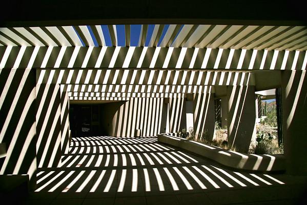 Visitor Center; Saguaro National Park; Tucson, Arizona