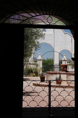San Xavier del Bac Mission; Tucson, Arizona