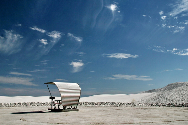 Picnic Protection; White Sands, New Mexico